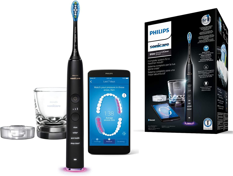 Philips Sonicare HX9901-13 DiamondClean Smart - Cepillo de dientes eléctrico con App