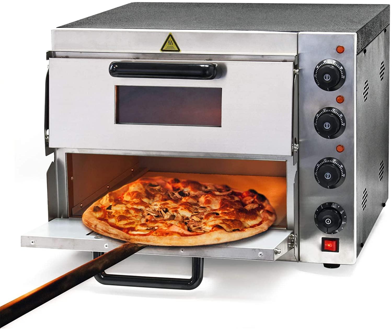 Horno para pizzas con 2 niveles